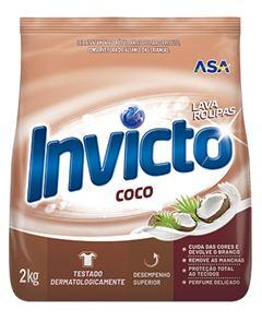 LAVA ROUPAS PÓ COCO SACHÊ INVICTO