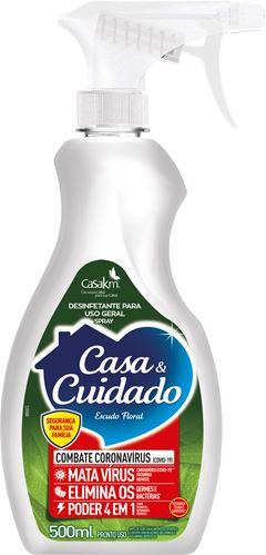 DESINFETANTE ESCUDO FLORAL GATILHO CASA & CUIDADO