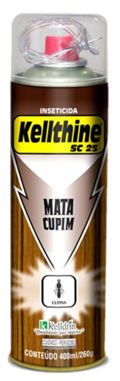INSETICIDA AEROSOL SC 25 MATA CUPIM KELLTHINE