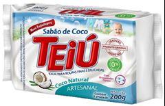 SABÃO TABLETE INDIVIDUAL COCO TEIU