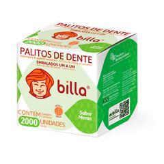 PALITO DENTAL EMBALAGEM MENTA BILLA