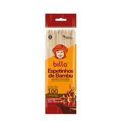 ESPETO BAMBU 25CM X 3 MM BILLA