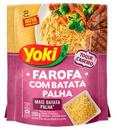 FAROFA PRONTA COM BATATA PALHA YOKI