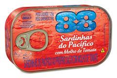 SARDINHA TOMATE ABRE FÁCIL PACÍFICO 88