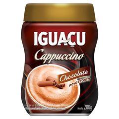 CAFE CAPPUCCINO CHOCOLATE POTE IGUAÇU