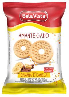 BISCOITO AMANTEIGADO BANANA E CANELA BELA VISTA