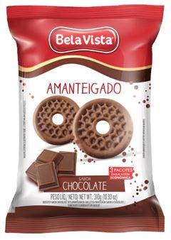 BISCOITO AMANTEIGADO CHOCOLATE BELA VISTA