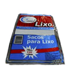 SACO DE LIXO PRETO 30 LITROS 59 X 62CM COSMOS