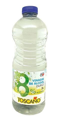 VINAGRE DE ALCOOL 8% ACIDEZ TOSCANO