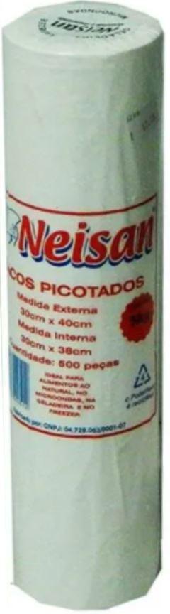 SACOLA PICOTADA 30X40CM 5KG NEISAN