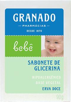 SABONETE GLICERINA BEBÊ ERVA DOCE GRAMADO