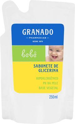 SABONETE LÍQUIDO GLICERINA BEBÊ REFIL GRAMADO
