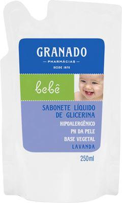 SABONETE LÍQUIDO GLICERINA BEBÊ LAVANDA REFIL GRAMADO