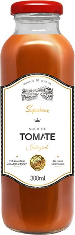 SUCO INTEGRAL TOMATE SUPERBOM