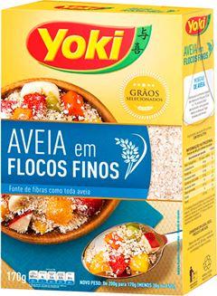 AVEIA FLOCOS FINOS YOKI