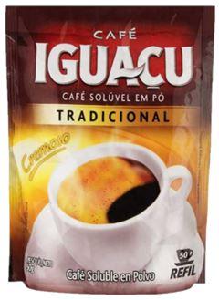 CAFÉ SOLÚVEL TRADICIONAL SACHÊ IGUAÇÚ
