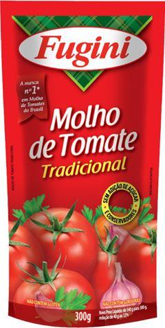 MOLHO DE TOMATE TRADICIONAL SACHÊ FUGINI