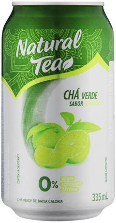 CHÁ VERDE COM LIMÃO NATURAL TEA
