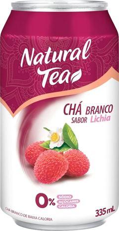 CHÁ BRANCO COM LICHIA NATURAL TEA