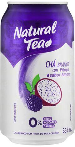 CHÁ BRANCO COM PITAYA E AMORA NATURAL TEA