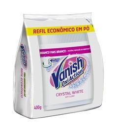 TIRA MANCHAS PÓ CRYSTAL WHITE REFIL VANISH