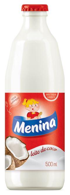 LEITE DE COCO MENINA