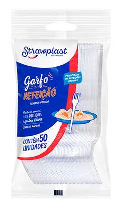 GARFO PLÁSTICO CRSITAL FORTE STRAWPLAST