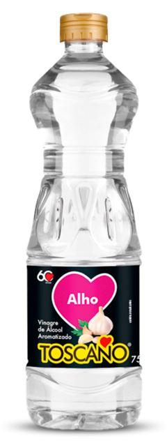 VINAGRE DE ALCOOL COM ALHO TOSCANO