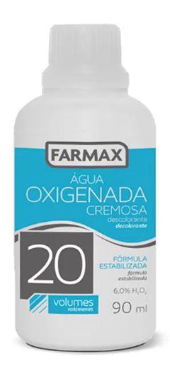 ÁGUA OXIGENADA CREMOSA 20 VOLUMES FARMAX