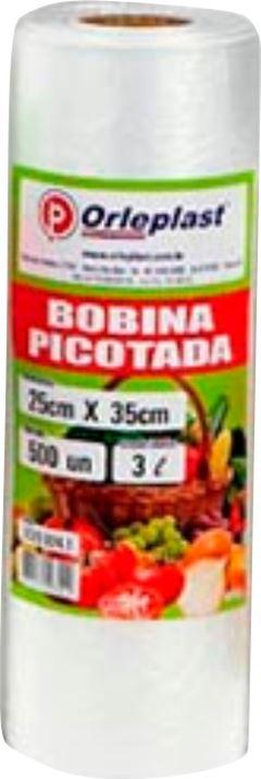 SACOLA PICOTADA 25X35 3LT ORLEPLAST