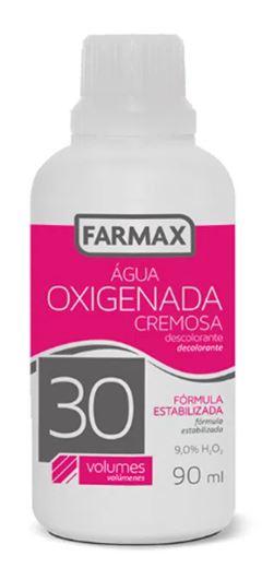 ÁGUA OXIGENADA CREMOSA 30 VOLOMES FARMAX