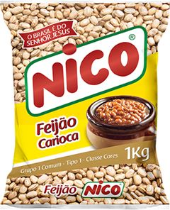 FEIJÃO CARIOCA TIPO 1 NICO