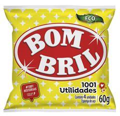 LÃ DE AÇO VERDE BOMBRIL