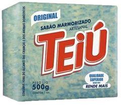 SABÃO TABLETE MARMORIZADO TÉIU