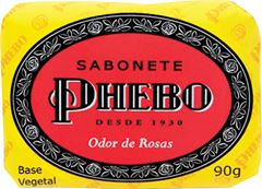 SABONETE GLICERINA ODOR ROSAS PHEBO