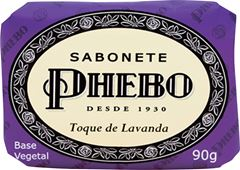 SABONETE GLICERINA TOQUE DE LAVANDA PHEBO