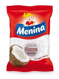 COCO FLOCOS UMIDO ADOÇADO MENINA