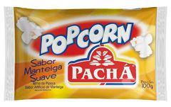 PIPOCA MICROONDAS MANTEIGA PACHÁ