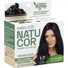 TINTURA PRETO AZULADO 1.7 NATUCOR