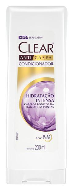 CONDICIONADOR ANTICASPA HIDRATAÇÃO INTENSA CLEAR