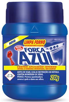 LIMPA FORNO PASTA FORÇA AZUL