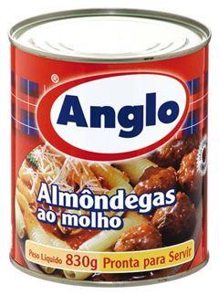ALMONDEGAS AO MOLHO ANGLO