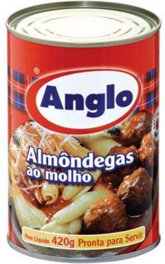ALMÔNDEGAS AO MOLHO ANGLO