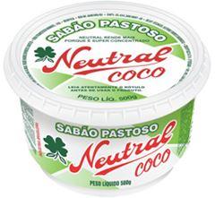 SABÃO PASTOSO NEUTRAL COCO